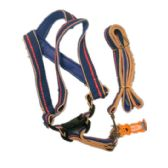 12 Units of large size dog harness, fit 70lb-100lb.