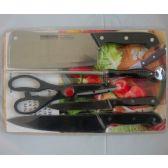24 Units of 5pc knife set - Kitchen Knives