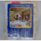 48 Units of 62''x62'' Round table cloth - Table Cloth