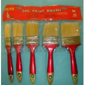 72 Units of 5pc Paint brush, - Paint and Supplies