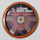 50 Units of Steering Wheel Cvr Lt. Wood Look On Peggable Crdbrd Insert *9.99*