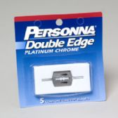 144 Units of Razor Double Edge 5ct Personna Ref# 12-1203 CASE DIMENSIONS ARE 9.82 X 9.2 X 9.45 - Box Cutters and Blades