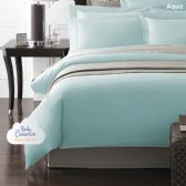 12 Units of Becky Cameron 1800 Series 3-PC Ultra-Fine Weave Combed Microfiber Duvet Cover Case Queen Size Aqua