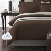12 Units of Becky Cameron 1800 Series 3-PC Ultra-Fine Weave Combed Microfiber Duvet Cover Case Queen Size Chocolate