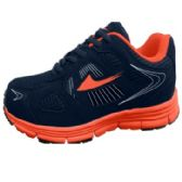 12 Units of Mens Sneakers in Blue And Orange - Men's Sneakers