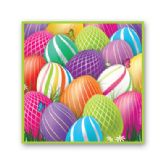 144 Units of Easter Bev Napkin 16 Ct - Party Paper Goods