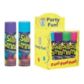 12 Units of Party Fun Silly String 3oz 12Ct - Party Favors