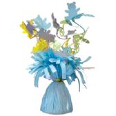 48 Units of Wght Tinsel Blue Baby 4.75oz - Party Novelties