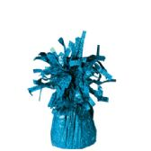 72 Units of Wght Tinsel Teal Blue 4.75oz - Party Misc.