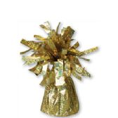 72 Units of Wght Tinsel Gold Sprkl 4.75oz - Party Misc.