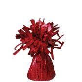 72 Units of Wght Tinsel Red Sprkl 4.75oz - Party Misc.