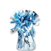 72 Units of Wght Tinsel Ice Blue Shiny 4.75oz - Party Misc.