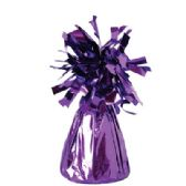 72 Units of Wght Tinsel Purple Shiny 4.75oz - Party Misc.