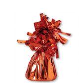 72 Units of Wght Tinsel Orange Shiny 4.75oz - Party Novelties
