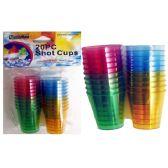 96 Units of 20pc Plastic Shot Glass - Kitchen