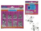 144 Units of Safety Pins 200pc/Set - SAFETY PINS