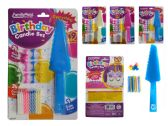 "144 Units of Birthday Candle Set 25pcbc Size 6.8x11.2""H 30083 - Birthday Candles"