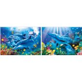20 Units of 3D Picture 29--Dolphins - 3D Pictures