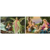 20 Units of 3D Picture 32--Angel with Children - 3D Pictures