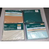 8 Units of 4 Pc Bed Sheet Set Micro-Fiber Assorted Colors Full Size - Bed / Sheet Sets