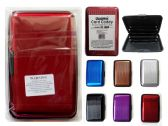 192 Units of Card Caddy Card Holder - Leather Purses and Handbags