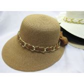 36 Units of Ladies Summer Hat Assorted Colors