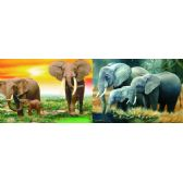 20 Units of 3D Picture 76--Three Elephants - 3D Pictures