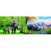 20 Units of 3D Picture 81--Three Elephants/Two Elephants - 3D Pictures