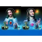 20 Units of 3D Picture 85--Jesus with Smaller Images - 3D Pictures
