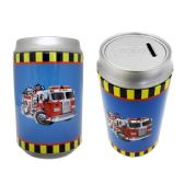 48 Units of Saving Bank Tin Fire Truck - Coin Holders/Banks/Counter