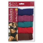 24 Units of Wholesale Women's Jewel Tones Boyshorts Set