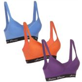 36 Units of Wholesale Women's Cotton Sports Bra - Womens Bras And Bra Sets
