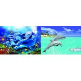 50 Units of 3D Picture 56--Jumping Dolphins/Swimming Dolphins - 3D Pictures