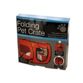 6 Units of Folding Pet Crate - Pet Accessories