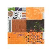 300 Units of Frightful Fold-Out Album Kit - Scrapbook Supplies