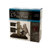 6 Units of Cat Scratch & Play Post - Pet Toys