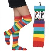 60 Units of Women's Over the Knee Socks - Womens Knee Highs
