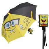 12 Units of Spongebob Squarepants Umbrella with Clamshell - Umbrella