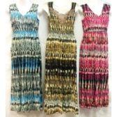 48 Units of Summer V Neckline Lace Back Dresses Assorted