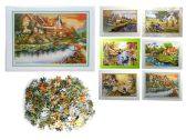 48 Units of Puzzle 500pcs 52x38cm - Puzzles