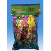 144 Units of PARTY CONFETTI GLITTER - Streamers/Confetti/Whirlers