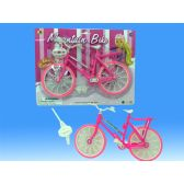 96 Units of Bicycle in blister card - Dolls