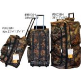 """12 Units of """"E-Z ROll"""" 22"""" Hunting Rolling Duffel - Travel & Luggage Items"""