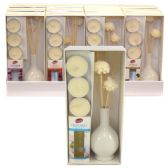 24 Units of Reed Diffuser Assorted Scents Display - Incense