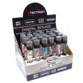 72 Units of SILICON STEREO EAR PHONE IN  TUBE & DISPLAY BOX
