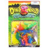 144 Units of DINO WORLD PLASTIC DINOSAURS PLASTIC DINOSAURS