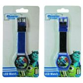 144 Units of MONSTERS UNIVERSITY DIGITAL WATCH 2 DESI ON BLISTER CARD
