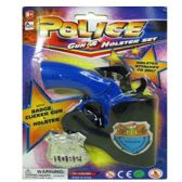 144 Units of POLICE GUN AND HOLSTER TOY SET POLICE GUN & HOLSTER