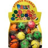 144 Units of SPONGE RUBBER BALLS SPONGE RUBBER BALLS