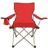 6 Units of All Star Chair Red - Camping